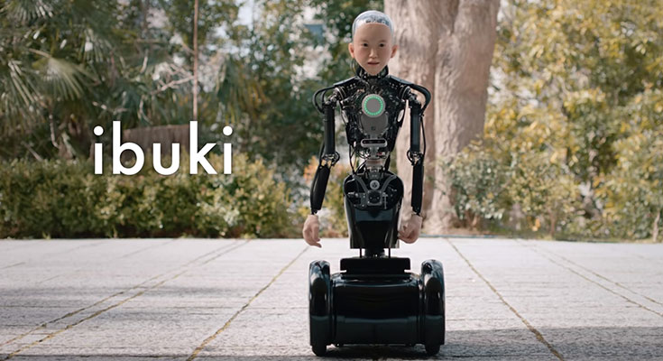 【最新型アンドロイド】子供型ヒューマノイドIBUKI【人工AI知能】