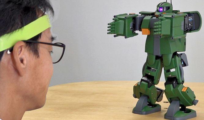 【GANDAM】バンダイが脳活動センサーでザクを動かすことに成功【バンダイNeU】